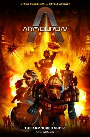 "Cover of ""The Armoured Ghost"""