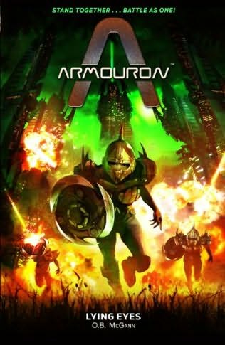 """Cover of """"Armouron: Lying Eyes."""""""