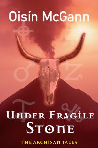 "Cover of ""Under Fragile Stone."""