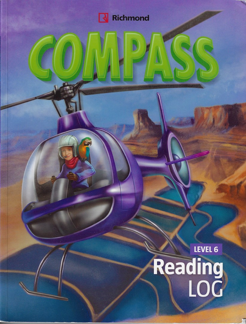 """Cover of """"Compass"""" Reader by Richmond Publishing"""