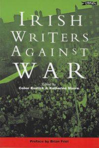 Cover of Irish Writers Against War