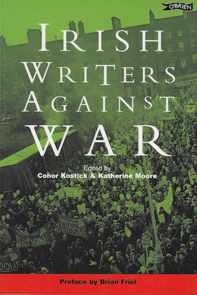 Cover of Irish Writers Against War