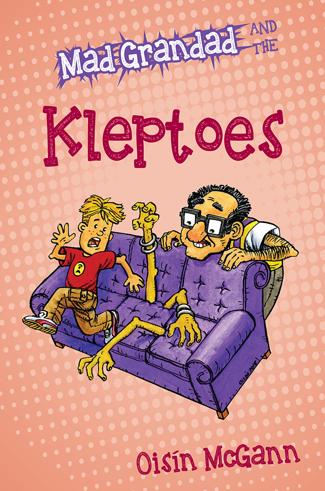 "Cover of ""Mad Grandad and the Kleptoes"""