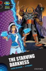 "Cover of ""The Starving Darkness."""