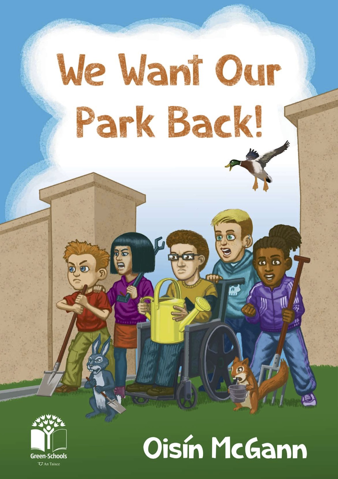 """Cover of """"We Want Our Park Back"""""""